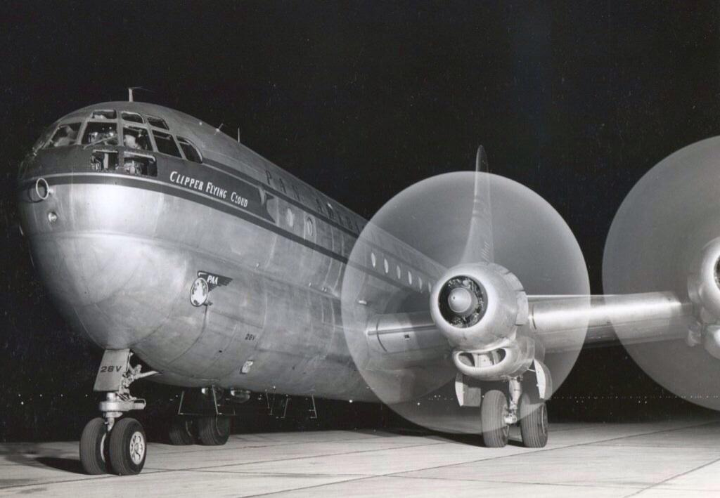 Clipper Flying Cloud ready for a nighttime departure. http://t.co/kzhcWhGTRQ
