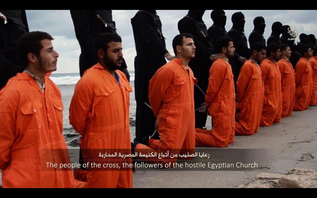 The people of the cross. These are our brothers & sisters. They have overcome. http://t.co/mndIW1FkmN