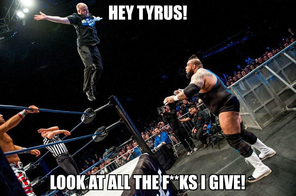 Tweeted this yesterday and I still stand by it. #impactuk #FlyBorashFly http://t.co/Bn3FH5yArd