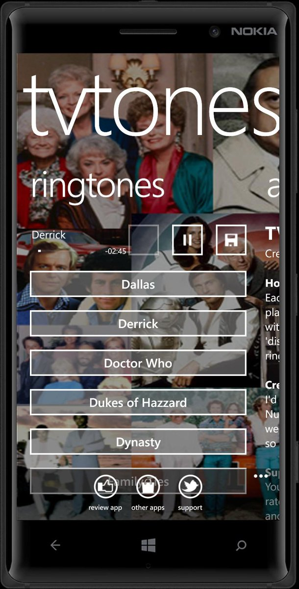 TVTones screenshot