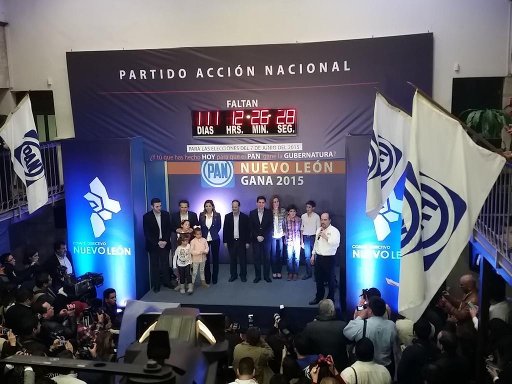 Tenemos candidato. @FelipeCantuR Candidato Panista a la Gubernatura de #NuevoLeón http://t.co/bhsEKkOXKb