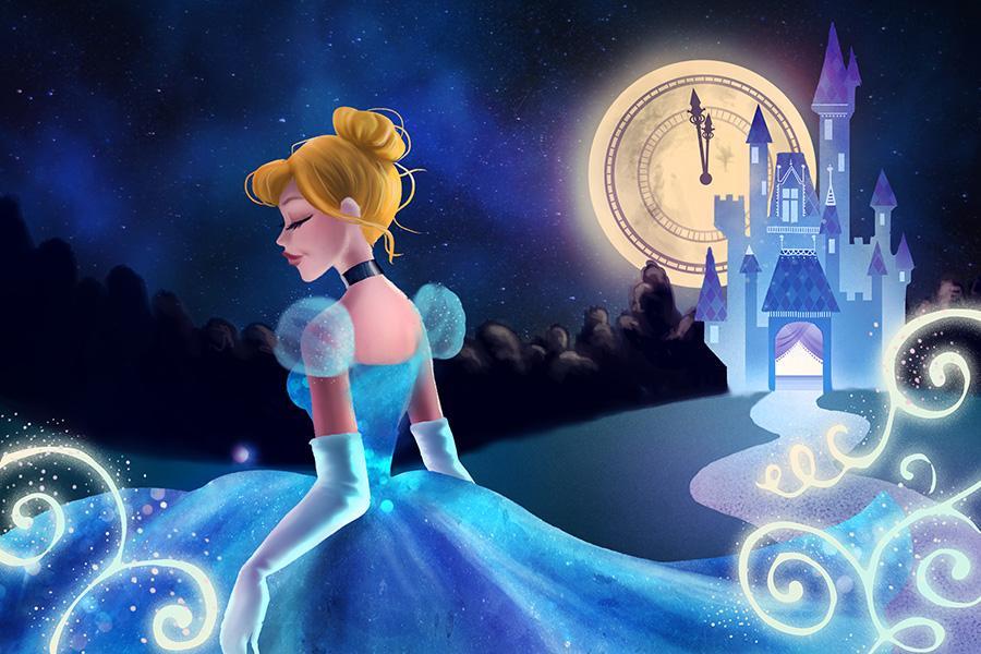 Happy anniversary to Cinderella! http://t.co/E3OgZyrK9n