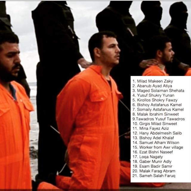 ...whatever the world news may say about the Brave, Martyred 21 Christians who were behead… http://t.co/yZKFSE6GTL http://t.co/UXnJE1B1l0