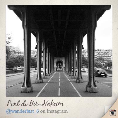 一度歩いて渡ってみたいなぁと思っていたPont de Bir-Hakeim。 http://t.co/3BYfAMXHEK