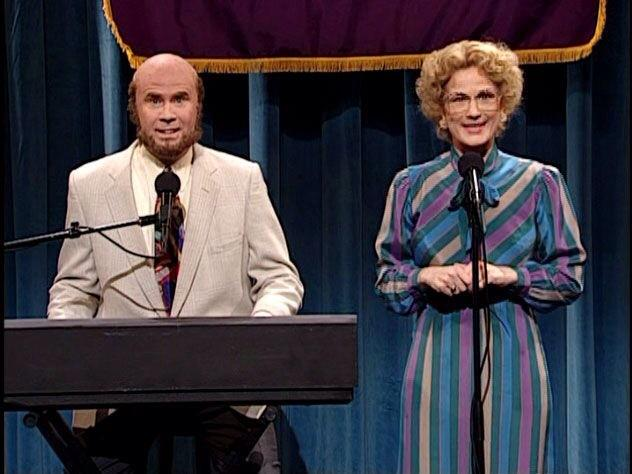 Ana Gasteyer and will ferrell snl