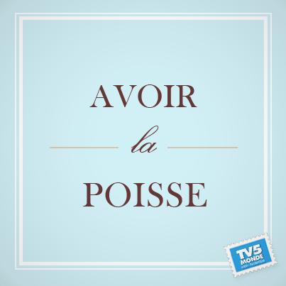 """Avoir la poisse"" →「不運を持っている。」 http://t.co/ACrRXjdxt4"