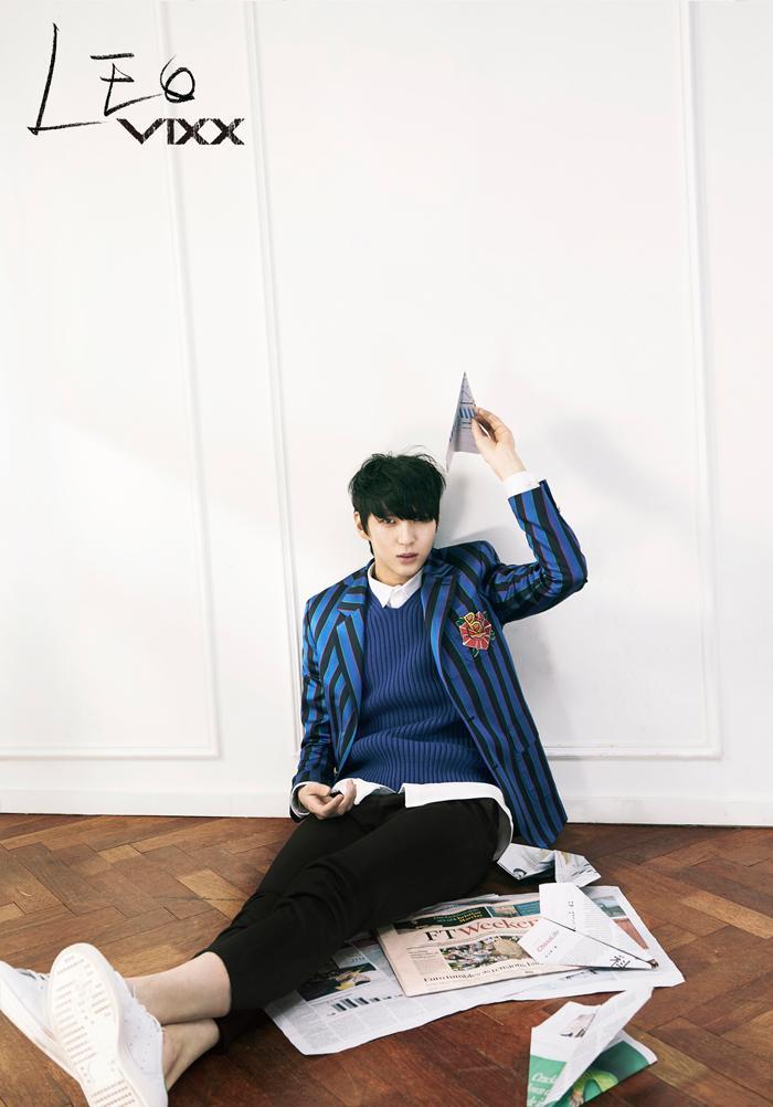 RealVIXX (@RealVIXX): #빅스 스페셜 싱글 앨범 [Boys' Record] #이별공식 컴백포토 2차 개인컷 - #레오 http://t.co/bVmGLoLxT8