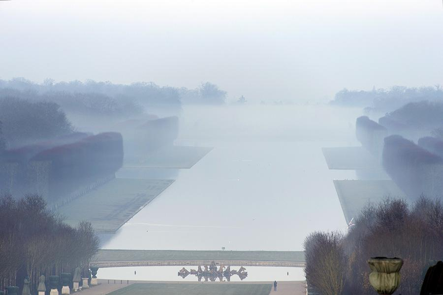 Versailles ce matin / Versailles this morning http://t.co/GS07ZFMzqw