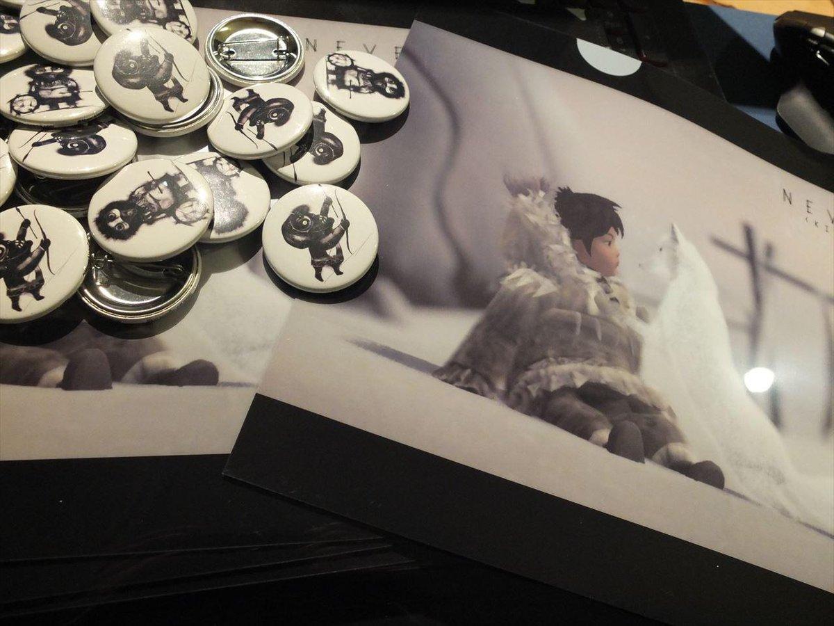 【HLT】次回Never AloneとValiant Heartsの座談会にUnity Games Japanさんから缶バッジとクリアケースいただいた。参加者の方にはプレゼントしますよ~ http://t.co/bpFBtqDU3q http://t.co/oW5yLExrlZ