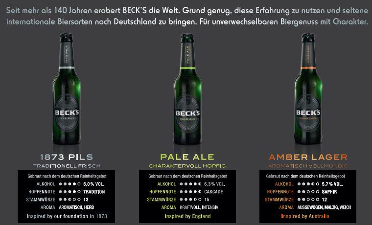 Beck's to launch new beer styles in Germany obviously trying to target growing craft beer scene. #becks #craftbeer http://t.co/JT0zn4tuXa