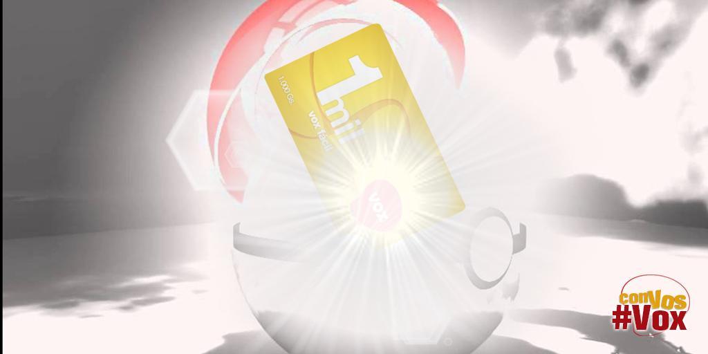 Tarjeta de 1Mil ¡Te elegimos! Atacá con tu ¡IMPACTRUENO! #MomentosConVox http://t.co/97HRbWEmBi