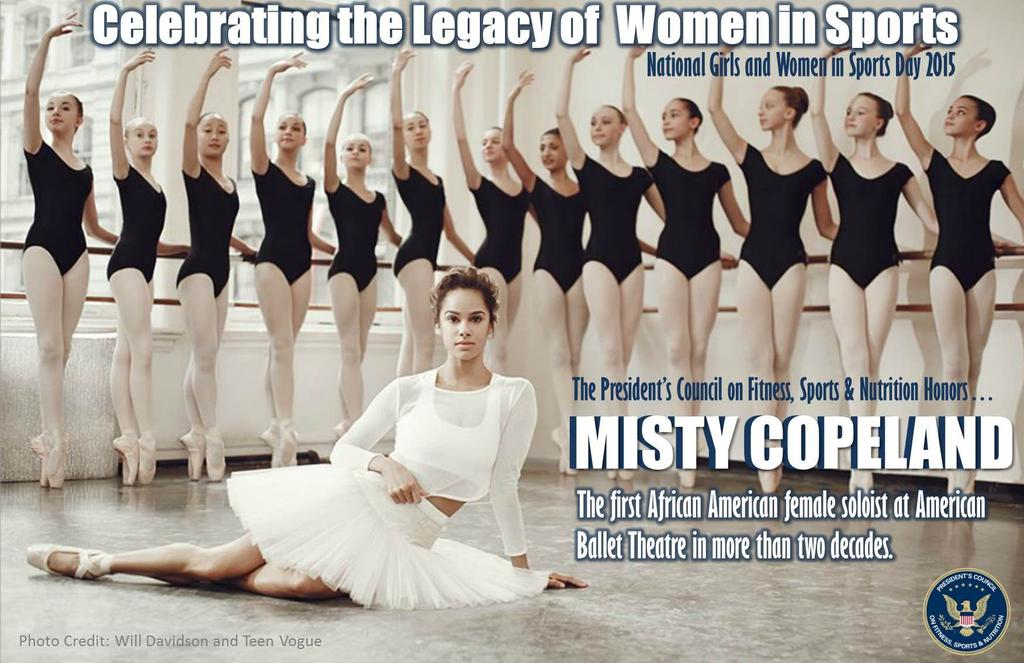 Shout out to @mistyonpointe, the 1st Afr Amer female soloist at @ABTBallet in more than 2 decades! #NGWSD http://t.co/XVQkImXZ7H