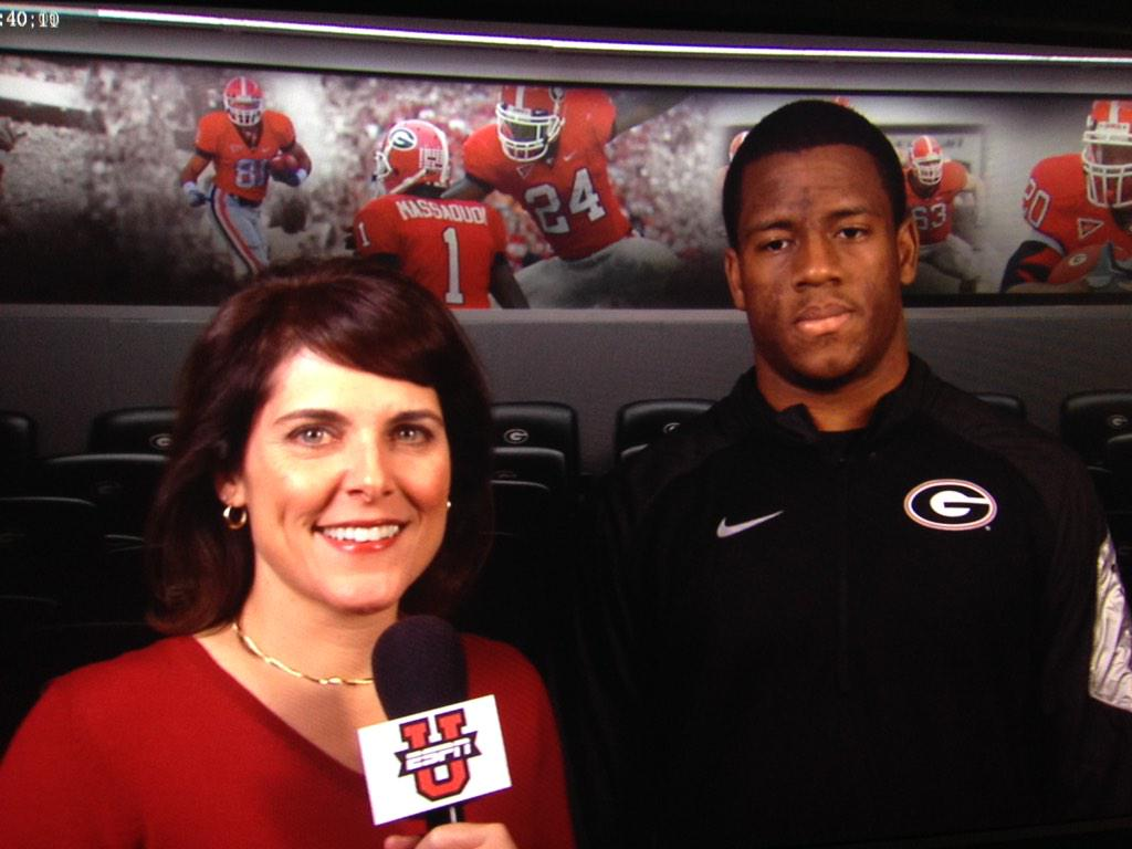 On #SigningDay, RB Nick Chubb of @FootballUGA tells us the goal here is always the same: to play for championships. http://t.co/NzEo9hjRKG