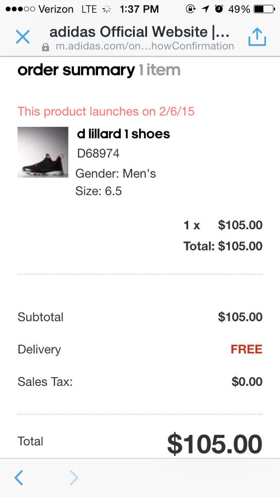 @Dame_Lillard PRE-ORDERED BAM http://t.co/W2xjSrFW8t