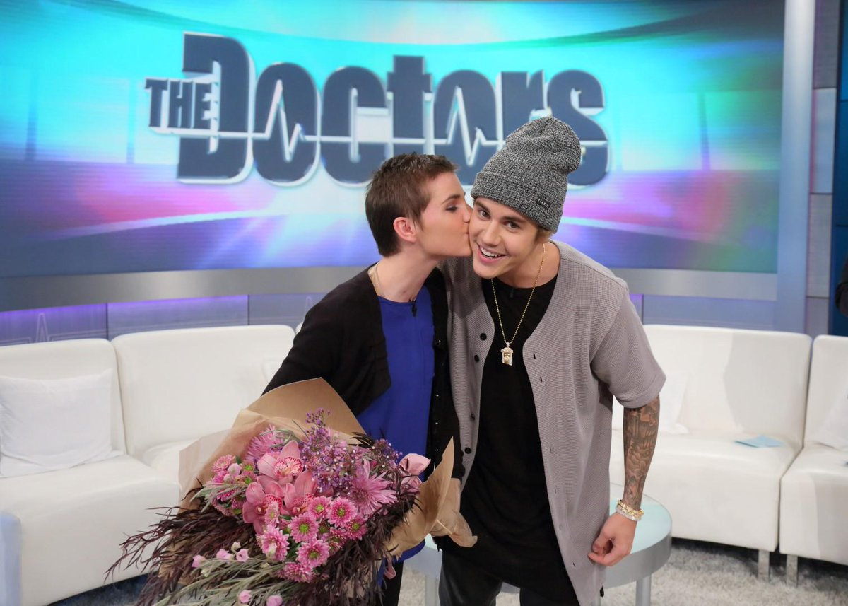Excited to see @JustinBieber on #TheDoctors tomorrow? (WE ARE!) Tune in! http://t.co/FHpBxvz93R #JustinBieber http://t.co/Dte2p0HcF6
