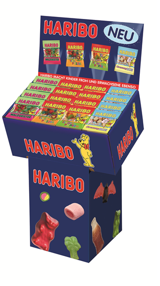 Haribo neuheiten display