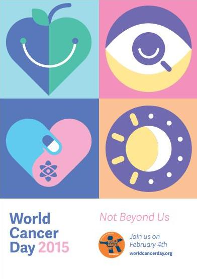 Today is #WorldCancerDay - a reminder that preventing and treating cancer is #NotBeyondUs. http://t.co/jPcX0L7OGt
