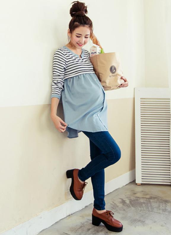 test ツイッターメディア - 春はすぐそこ♪流行デニムの授乳服♡チャック式授乳口付き☆ワンピースやレギンスと合わせてチュニックとしても可愛い♡スタイ付きで出産祝いに♪Momo´s fashion shop for Mama https://t.co/QzSkSe8XKN https://t.co/7hKMhOLwZe