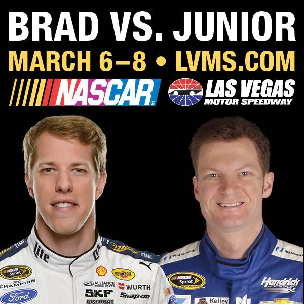 Who do you think is the better NASCAR driver? Favorite for #LVMS's defending champion, @Keselowski, or RT for @DaleJr http://t.co/ldW8s61YYQ