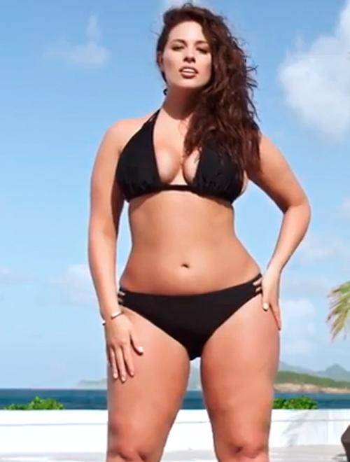 Plus size sports illustrated swimsuit model can not