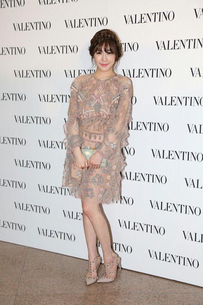 Tiffany is now at our @MaisonValentino Flagship store opening event! @SMTown_SNSD @msTiffanyHwang #Girlsgenaration http://t.co/yu8WqyInNF