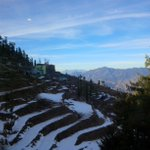 View from my room! Shimla...