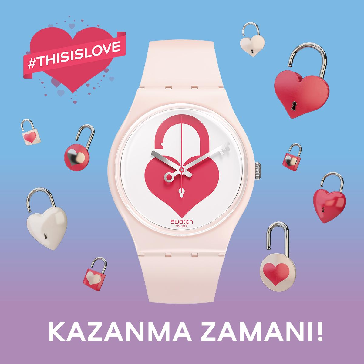 #ThisIsLove etiketiyle aşkı tarif et, UNLOCK MY HEART(GZ292) saati kazanma şansını yakala! http://t.co/8yRruz35Ud http://t.co/ccB8F8CbsS