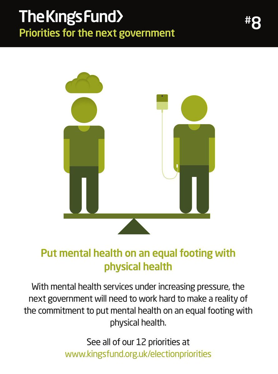 Putting #mentalhealth on an equal footing with physical health should be a key priority for the next govt #timetotalk http://t.co/Ove3oX2iUO