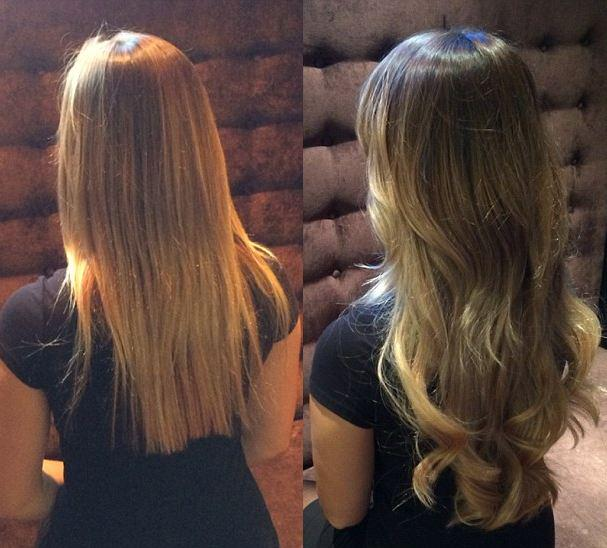 The 300 Sticky Tape Hair Extensions That Promise Thick A List