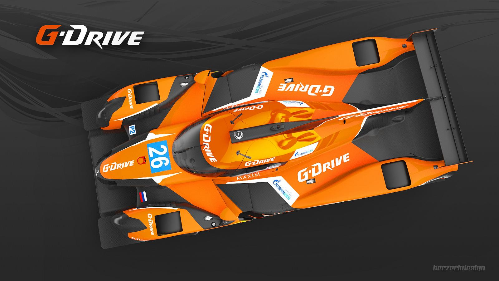 Our new livery for season FIA WEC 2015!  #gdriveracing #lemans http://t.co/MaNizrZWeU