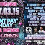 @knight2608 STICKY 7th Bday & Stormins Bday bash-SAT 7th March @ SCALA! 130 DJs & MCs! Girls Dnt Pay b411 http://t.co/2NE1zvDrHs
