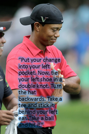 This work on the Woodies? RT @NoLayingUp: The only advice Big Cat should be following on his yips. #TinCup http://t.co/CW3rurD3hs
