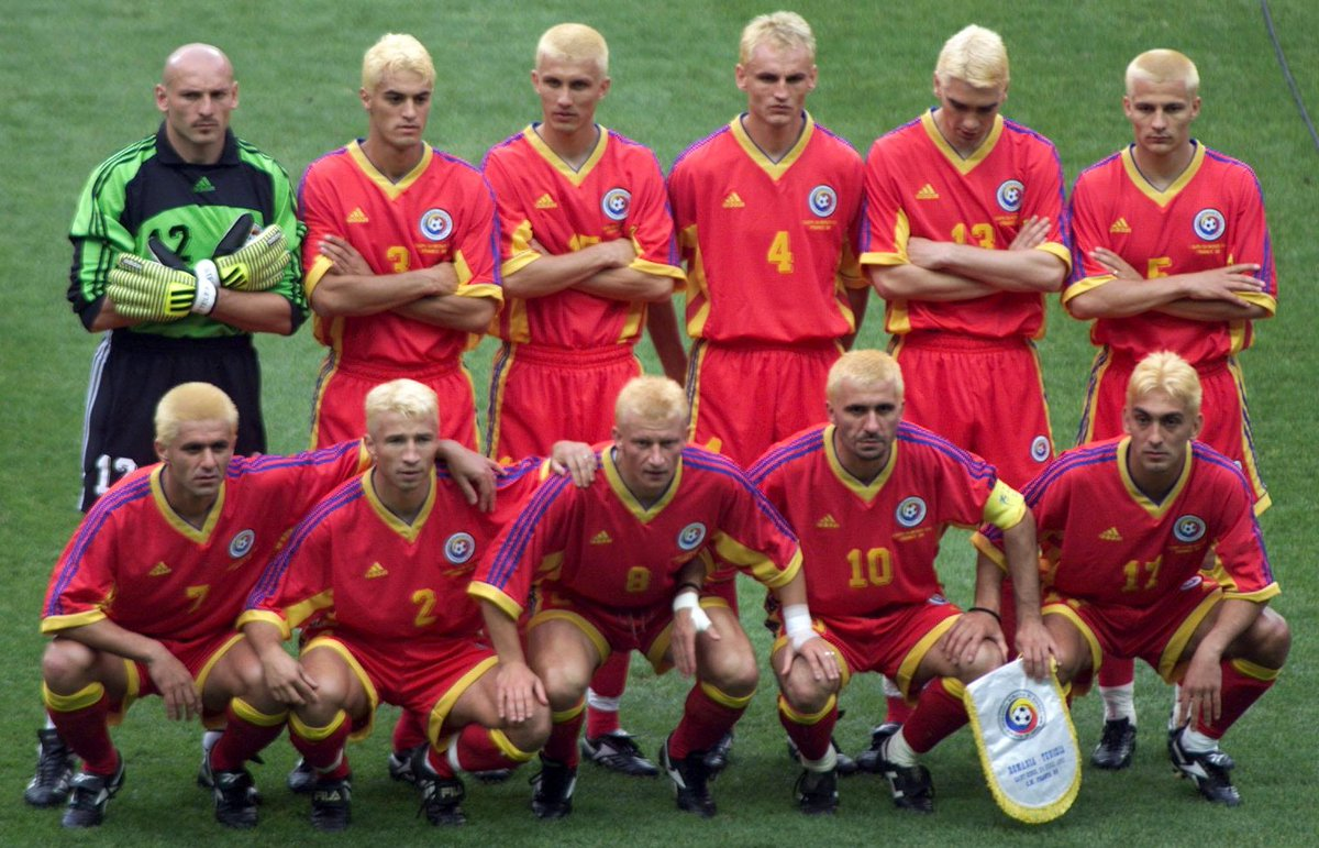 Remember When The Entire Romanian Team At World Cup 1998