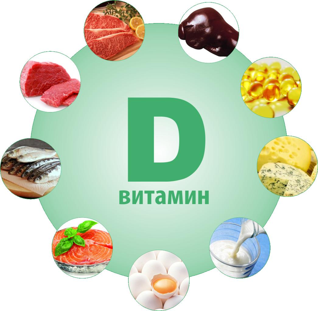 Витамины D2 и D3 помогают в усвоении фосфора и кальция. . Необходимы для у