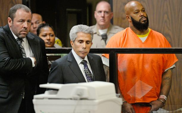 Suge Knight is back in jail after brief hospital stay: