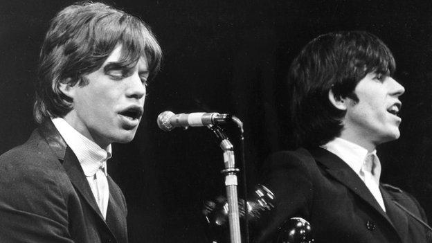 A blue plaque is unveiled at Dartford station where Mick Jagger and Keith Richard met in 1961. http://t.co/QKDlmeecAD http://t.co/VPzVsJEaiV