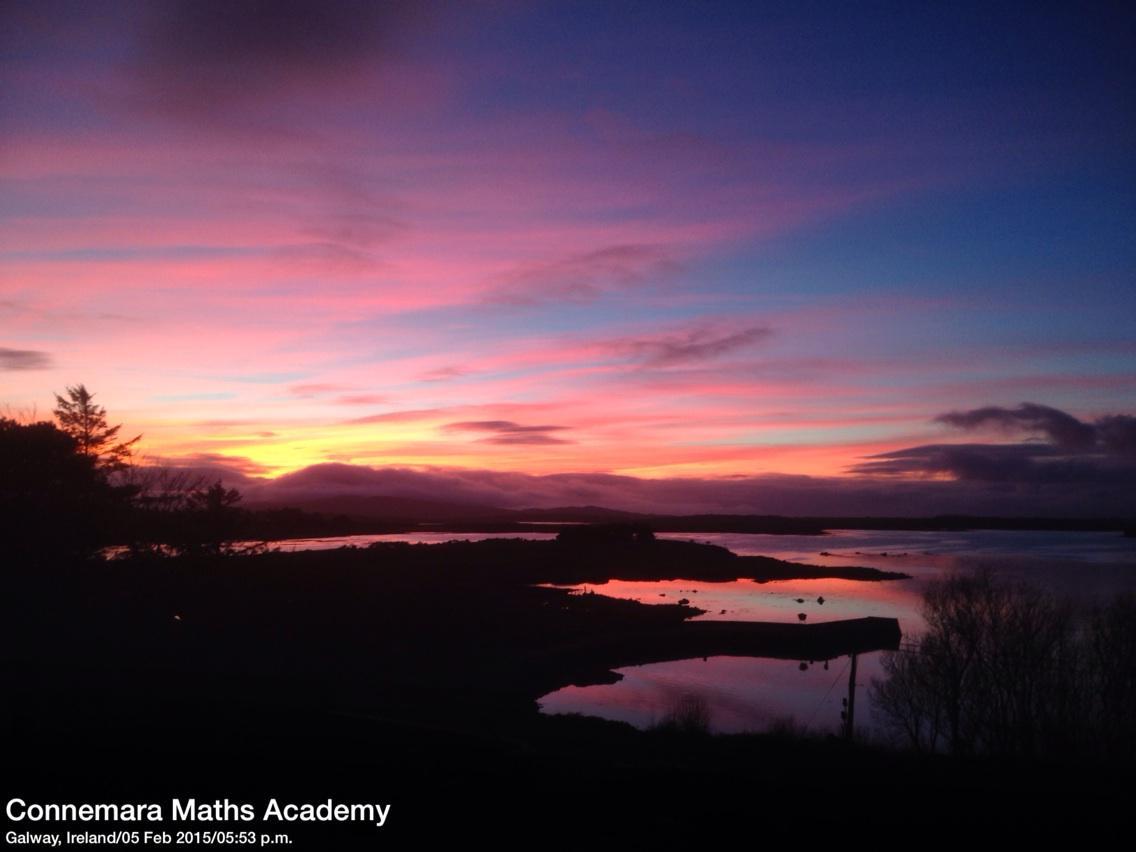 Sunset still going here in #Connemara #WildAtlanticWay @GalwayHour @GalwayBuzz @GalwayBayFM958 http://t.co/PZQuAzLRkG