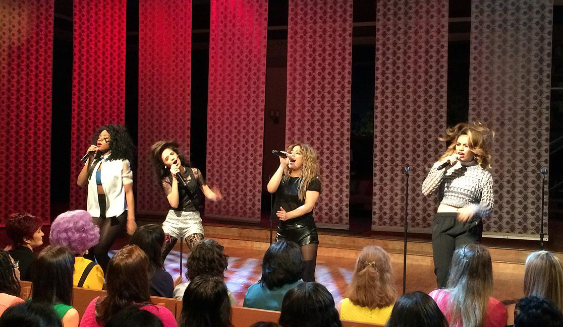 .@AllyBrooke you girls were so fantastic on stage & so sweet off stage! XO #5HonTheTalk #5HReflectionOutNow! http://t.co/BTkBcUFPgT