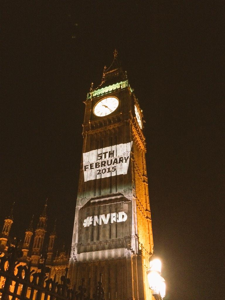 Hashtags on Big Ben: It must be National Voter Registration Day! Register to vote here: https://t.co/TpzpCwkrY8 #NVRD http://t.co/K0DM1SUdtR