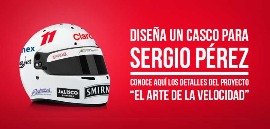 Concurso para diseñar el casco que usará Sergio Pérez en el Gran Premio de México de la F1 http://t.co/xHL4h0lSuo http://t.co/wrJC9OmFbd