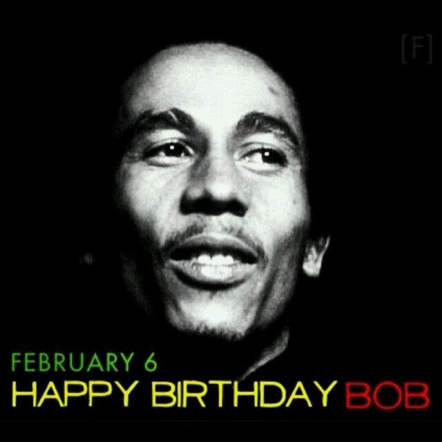 Happy birthday Bob Marley musikmu membuat damai (one love one heart)