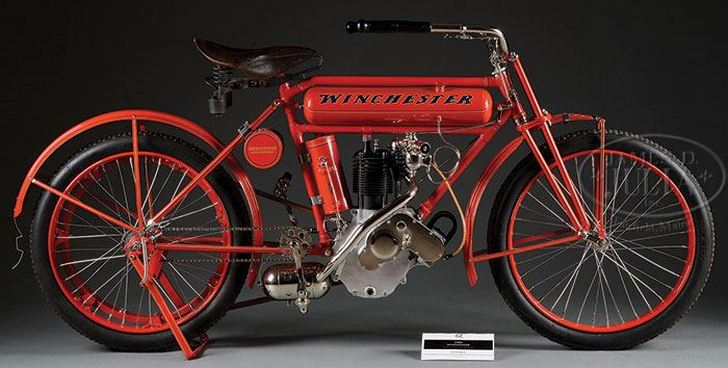 Check out this ultra-rare Winchester motorcycle, dating back to 1909. @_autoevolution_ http://t.co/GA5HDJskIj http://t.co/fiVCudQLOR