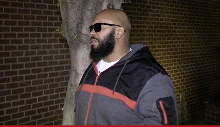 Suge Knight is out of the hospital... and back in jail