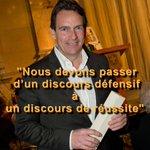 """""""Nous devons passer d'un discours défensif à un discours de réussite."""" - Pierre Karl Péladeau http://t.co/RuglCkPkzC"""