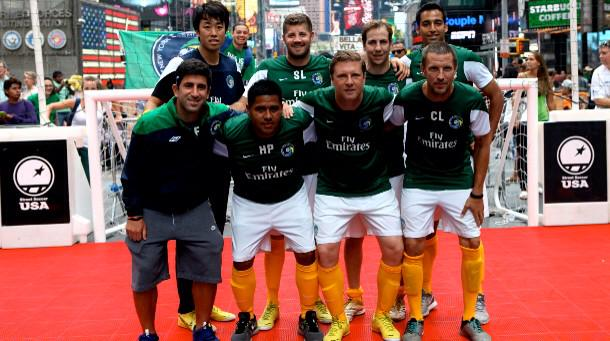 Thank you to .@NYCosmos! We look forward to making a lot of community impact together in NYC as a team. http://t.co/mRgqiJs2Q1
