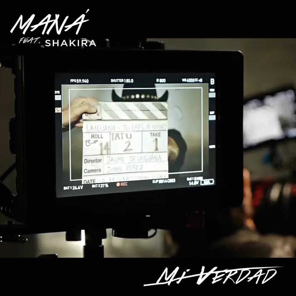 Faltan 4 días para el estreno de #MiVerdad feat. @Shakira http://t.co/UBWijfZnfd