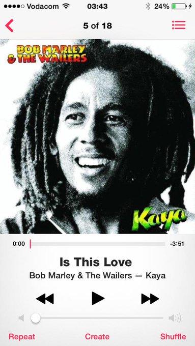 Happy 70th Birthday Bob Marley :-)