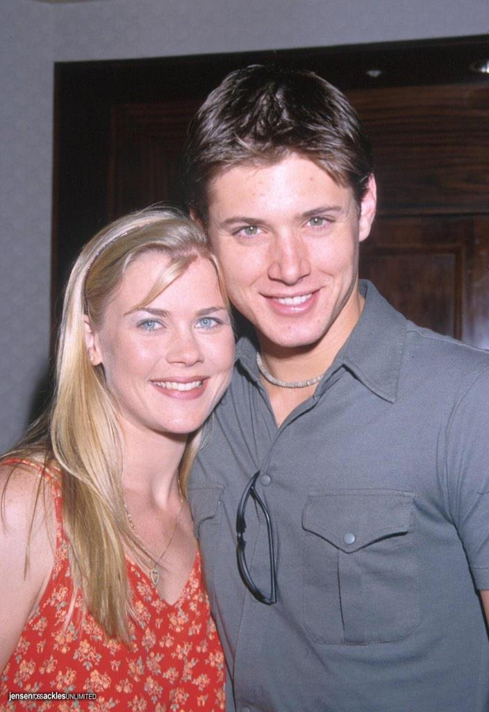 Thanks @shellyclark33 for this #TBT pic with @JensenAckles. Circa 199? http://t.co/bVdxfqL5K4