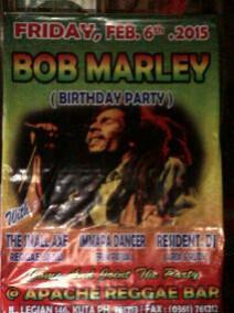 Happy birthday Robert Nesta Marley (Bob Marley)