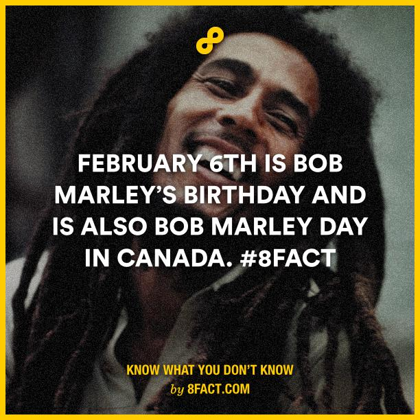 """Happy bezzday bobb\"""" Birthday Of !  4 Facts About Bob Marley - You Will Respect Him More"""